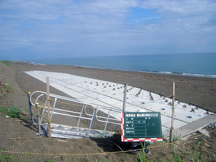 海岸保全 猿払第2地区 21工区
