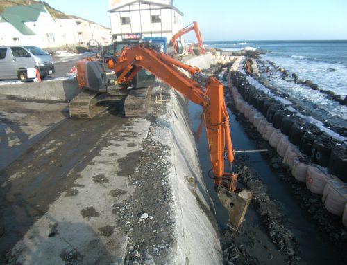 津軽海岸 津波・高潮 危機管理対策緊急工事
