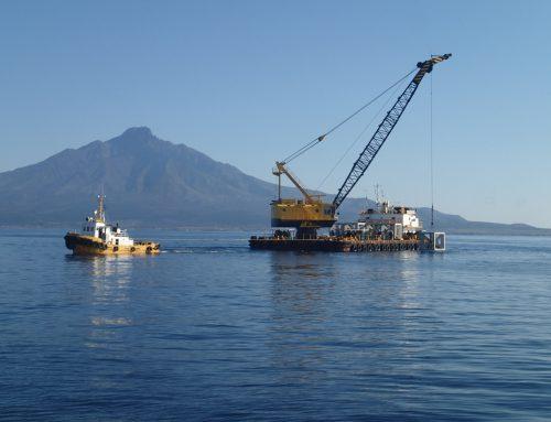 日本海宗谷地区 利尻南部漁礁設置工事