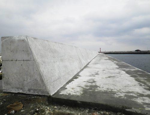 浜鬼志別漁港 水産流通基盤 整備工事(補正・繰越)外