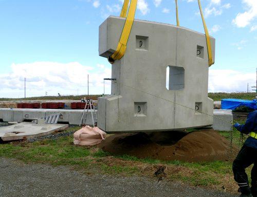 海岸保全潜堤ブロック製作